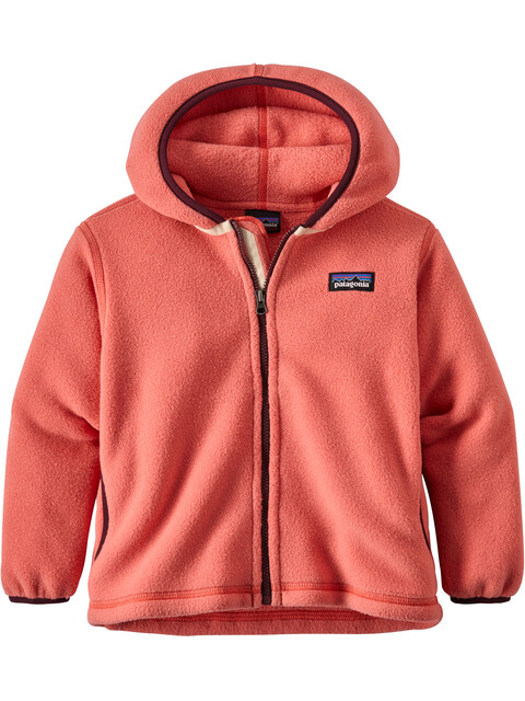 Patagonia Babies Synchilla Fleece Cardigan Spiced Coral